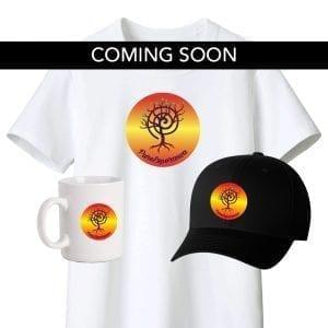 merchandise, shirts, hats, mugs