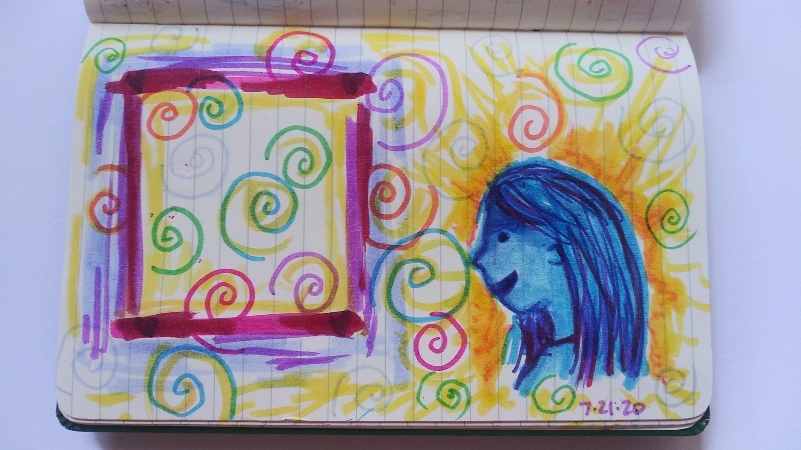 Doodle Reflection: Thinking Inside the Box